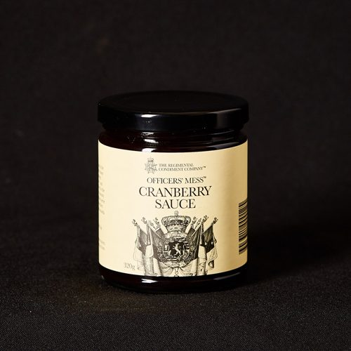 Officers' Mess Cranberry Sauce
