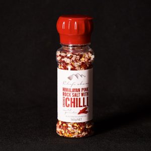 Himalayan Pink Rock Salt with Chilli